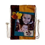 thanks giving - Drawstring Bag (Small)