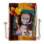 thanks giving - Drawstring Bag (Large)