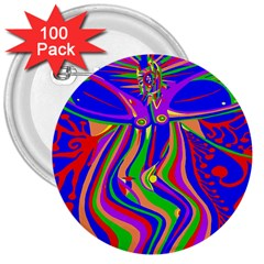 Transcendence Evolution 3  Buttons (100 Pack)  by icarusismartdesigns