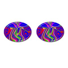 Transcendence Evolution Cufflinks (oval) by icarusismartdesigns