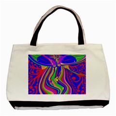 Transcendence Evolution Basic Tote Bag  by icarusismartdesigns