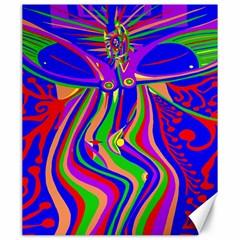Transcendence Evolution Canvas 20  X 24   by icarusismartdesigns