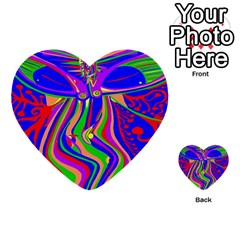 Transcendence Evolution Multi Purpose Cards (heart)  by icarusismartdesigns