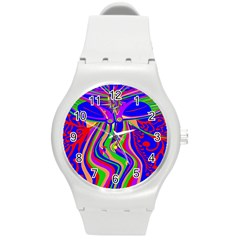 Transcendence Evolution Round Plastic Sport Watch (m) by icarusismartdesigns