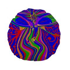 Transcendence Evolution Standard 15  Premium Flano Round Cushions by icarusismartdesigns