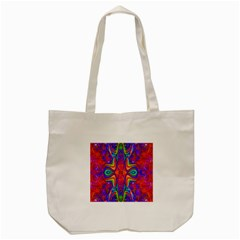 Abstract 1 Tote Bag (cream)  by icarusismartdesigns