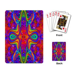 Abstract 1 Playing Card by icarusismartdesigns