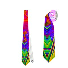 Abstract 1 Neckties (two Side)  by icarusismartdesigns