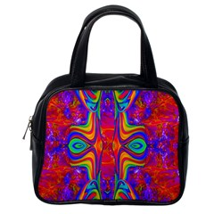 Abstract 1 Classic Handbags (One Side) by icarusismartdesigns