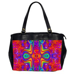 Abstract 1 Office Handbags (2 Sides)  by icarusismartdesigns