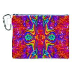 Abstract 1 Canvas Cosmetic Bag (xxl)  by icarusismartdesigns