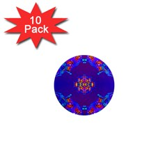 Abstract 2 1  Mini Magnet (10 Pack)  by icarusismartdesigns