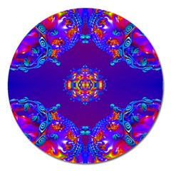 Abstract 2 Magnet 5  (round) by icarusismartdesigns