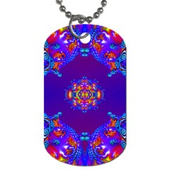 Abstract 2 Dog Tag (one Side) by icarusismartdesigns