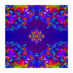 Abstract 2 Medium Glasses Cloth (2-Side) by icarusismartdesigns