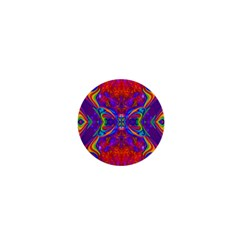 Butterfly Abstract 1  Mini Button by icarusismartdesigns