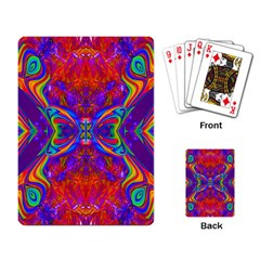 Butterfly Abstract Playing Cards Single Design by icarusismartdesigns