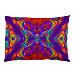Butterfly Abstract Pillow Case by icarusismartdesigns