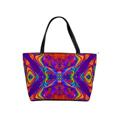 Butterfly Abstract Classic Shoulder Handbag by icarusismartdesigns