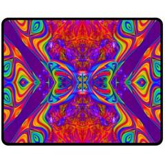 Butterfly Abstract Fleece Blanket (medium) by icarusismartdesigns