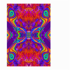 Butterfly Abstract Small Garden Flag (two Sides) by icarusismartdesigns