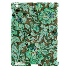 Beautiful Floral Pattern In Green Apple Ipad 3/4 Hardshell Case (compatible With Smart Cover) by FantasyWorld7
