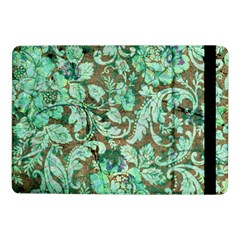 Beautiful Floral Pattern In Green Samsung Galaxy Tab Pro 10 1  Flip Case by FantasyWorld7