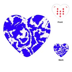 Migraine Blue Playing Cards (Heart)