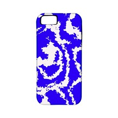 Migraine Blue Apple Iphone 5 Classic Hardshell Case (pc+silicone) by MoreColorsinLife