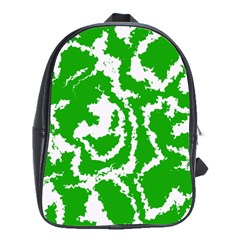 Migraine Green School Bags (xl)  by MoreColorsinLife