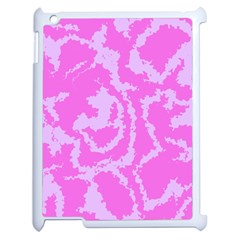 Migraine Pink Apple iPad 2 Case (White) by MoreColorsinLife
