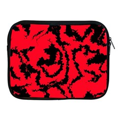 Migraine Red Apple iPad 2/3/4 Zipper Cases by MoreColorsinLife