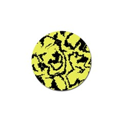 Migraine Yellow Golf Ball Marker (4 Pack) by MoreColorsinLife