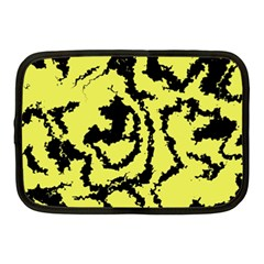 Migraine Yellow Netbook Case (Medium)  by MoreColorsinLife