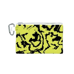 Migraine Yellow Canvas Cosmetic Bag (s) by MoreColorsinLife