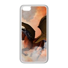 The Dark Unicorn Apple Iphone 5c Seamless Case (white) by FantasyWorld7