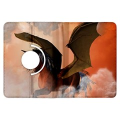 The Dark Unicorn Kindle Fire Hdx Flip 360 Case by FantasyWorld7