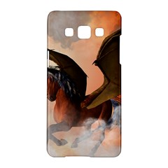 The Dark Unicorn Samsung Galaxy A5 Hardshell Case  by FantasyWorld7