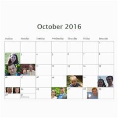 2016 Shymeuko By Tania   Wall Calendar 11  X 8 5  (12 Months)   Fa28m7x0dw2z   Www Artscow Com Oct 2016
