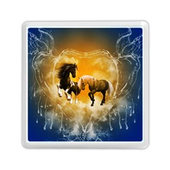 Wonderful Horses Memory Card Reader (square)  by FantasyWorld7