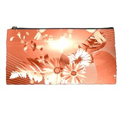 Amazing Flowers With Dragonflies Pencil Cases by FantasyWorld7