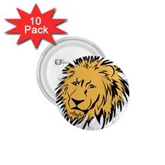 Lion 1.75  Buttons (10 pack) by EnjoymentArt