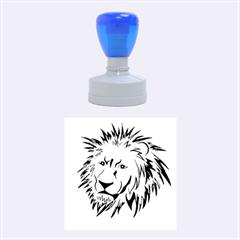 Lion Rubber Round Stamps (medium) by EnjoymentArt
