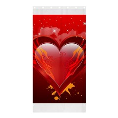heart Shower Curtain 36  x 72  (Stall)  by EnjoymentArt