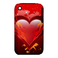 heart Apple iPhone 3G/3GS Hardshell Case (PC+Silicone) by EnjoymentArt