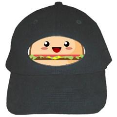 Kawaii Burger Black Cap by KawaiiKawaii