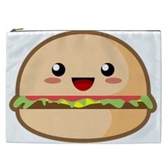 Kawaii Burger Cosmetic Bag (xxl)  by KawaiiKawaii
