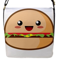 Kawaii Burger Flap Messenger Bag (s) by KawaiiKawaii