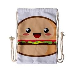 Kawaii Burger Drawstring Bag (small) by KawaiiKawaii
