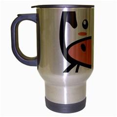 Kawaii Cow Travel Mug (silver Gray) by KawaiiKawaii